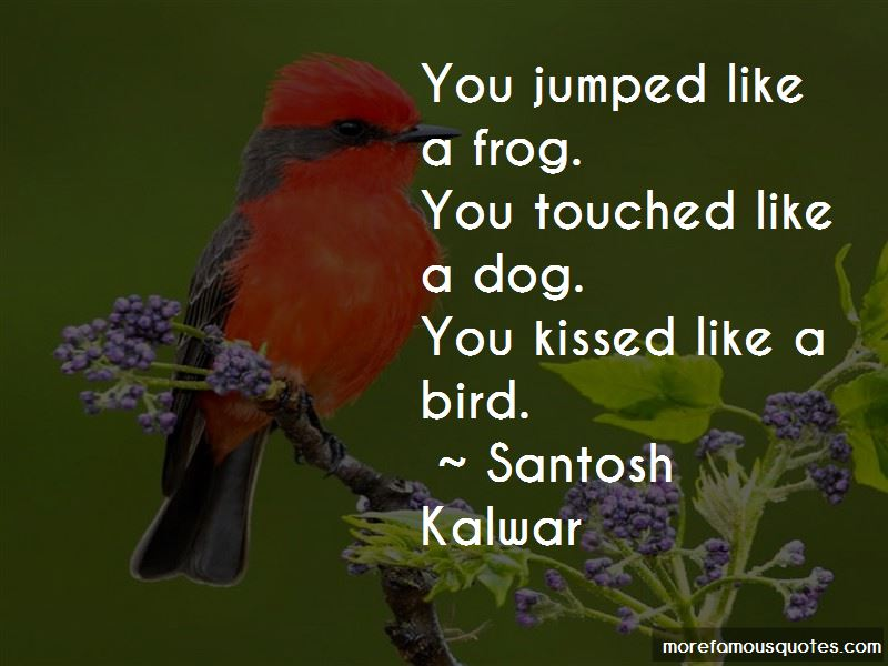 Kissed A Frog Quotes Pictures 4