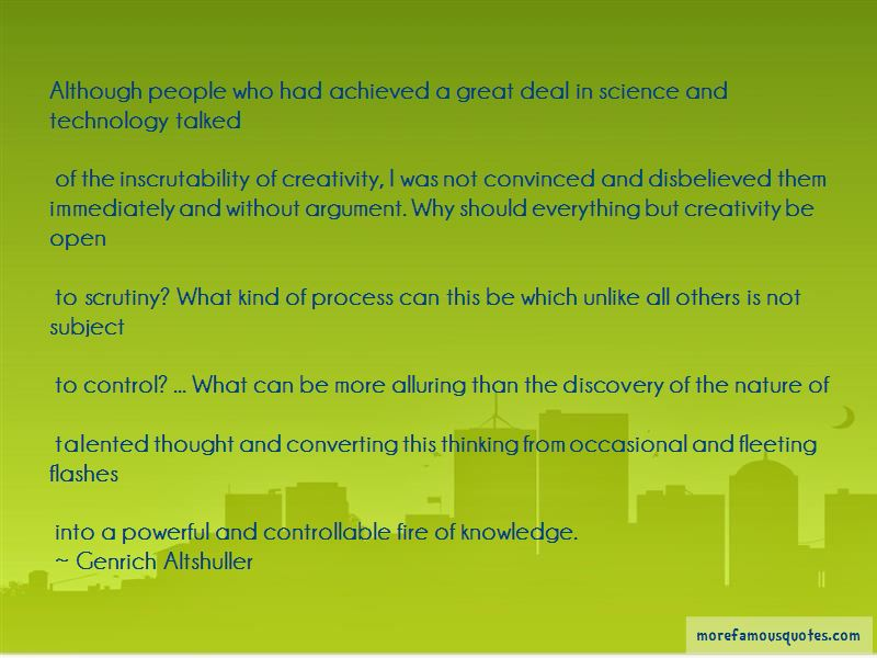 Knowledge And Creativity Quotes