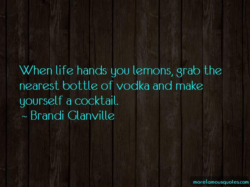Lemons Vodka Quotes Pictures 3
