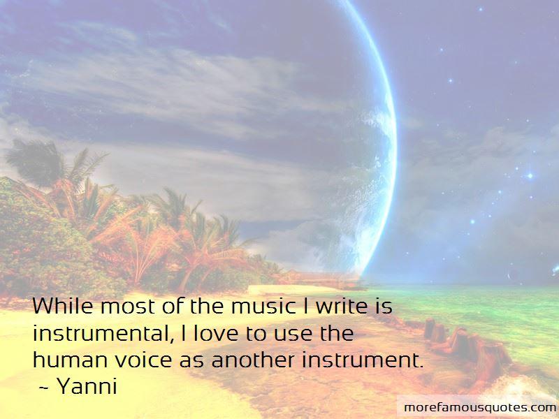 Love Instrumental Quotes