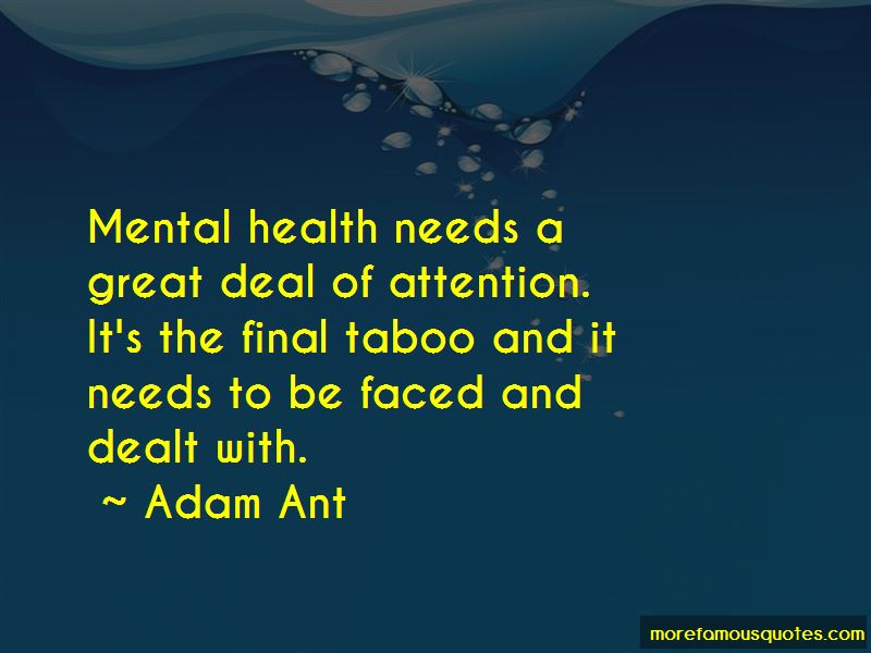 Mental Health Taboo Quotes