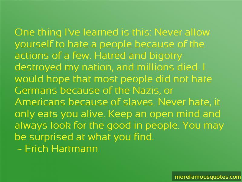 Mind Bigotry Quotes