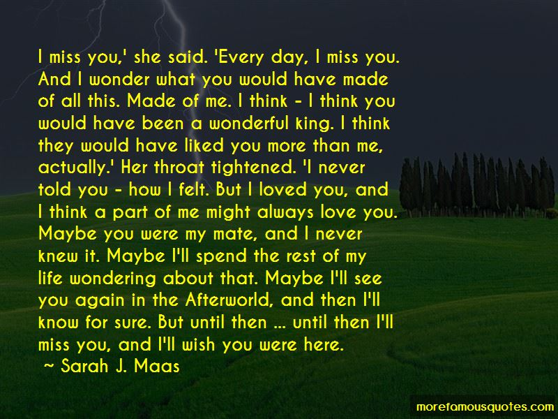 Miss You More Than You Miss Me Quotes Pictures 4