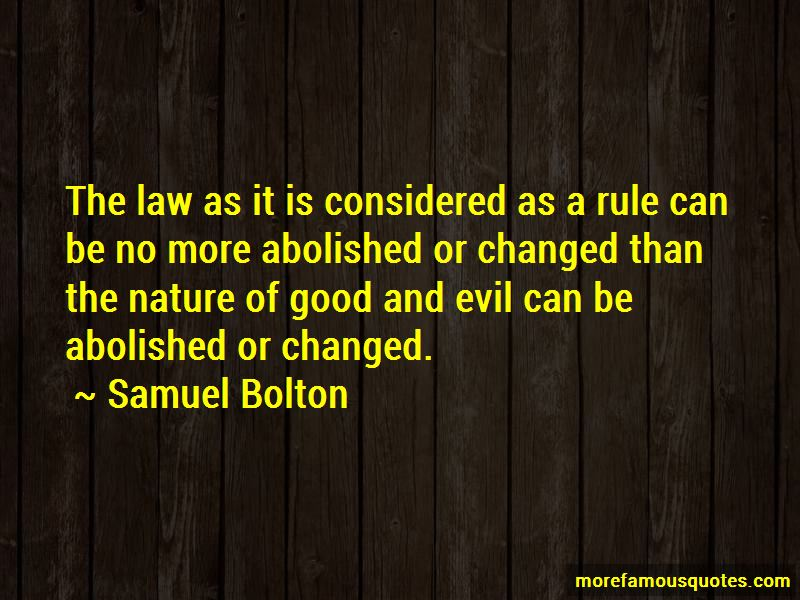 Nature Of Good And Evil Quotes