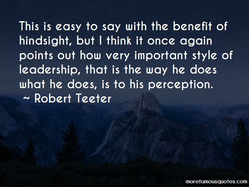Perception And Leadership Quotes