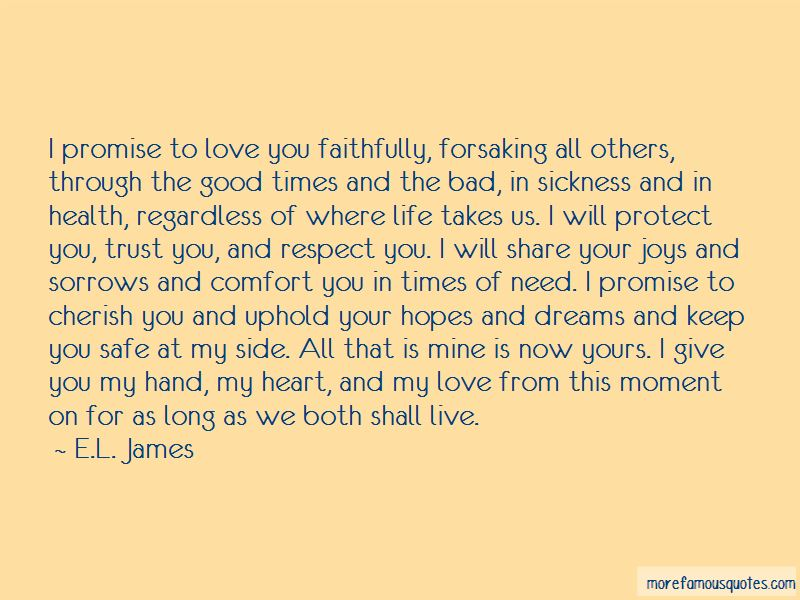 Promise To Love Quotes Pictures 3
