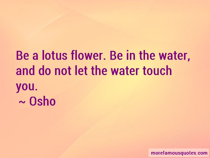 A Lotus Flower Quotes Pictures 2