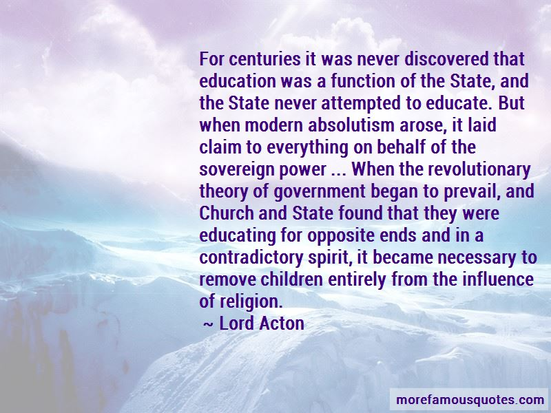 Quotes About Absolutism