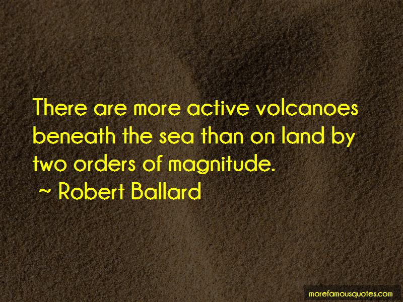 Quotes About Active Volcanoes