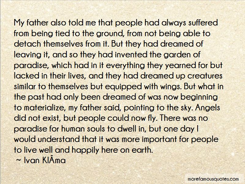 Quotes About Angels Leaving Earth