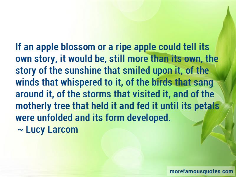 Apple Blossom Quotes Pictures 4