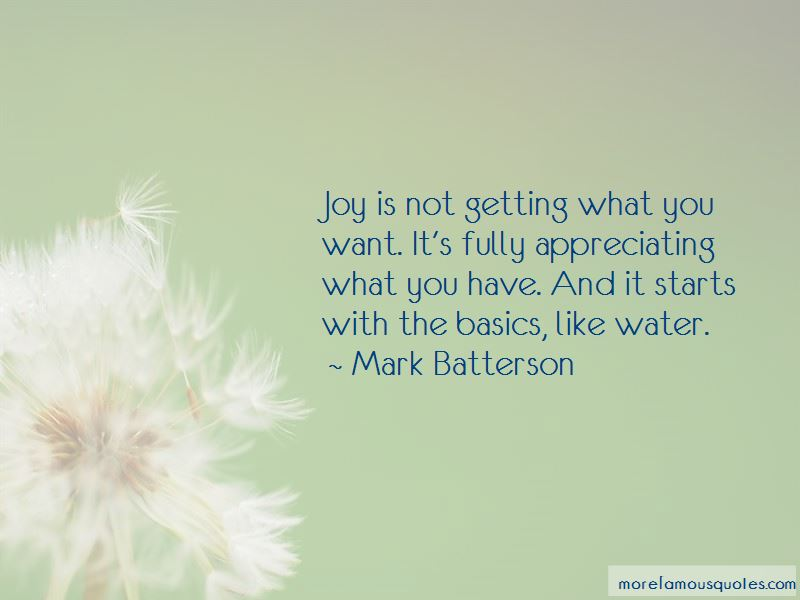 Quotes About Appreciating What You Have