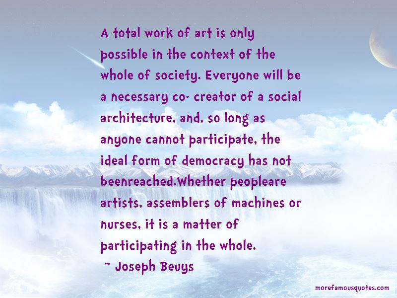 Quotes About Architecture And Society