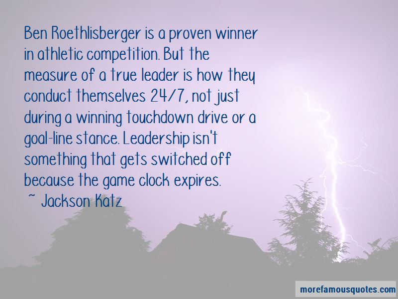 Athletic Leadership Quotes Pictures 2