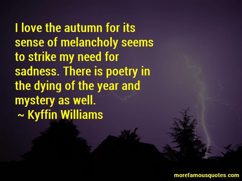 Autumn Melancholy Quotes Pictures 2