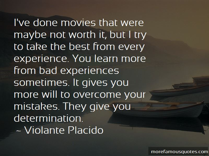 Quotes About Bad Experiences