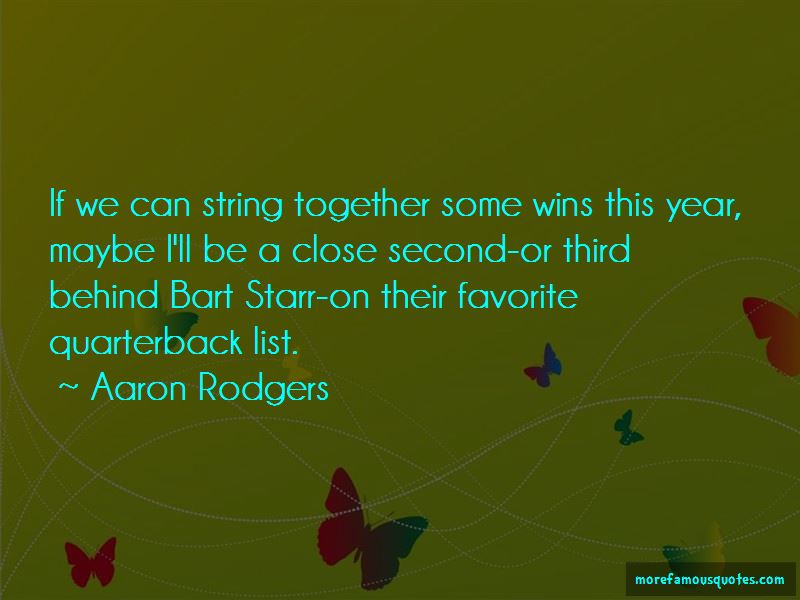 Quotes About Bart Starr