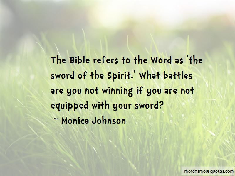 Quotes About Battles Bible