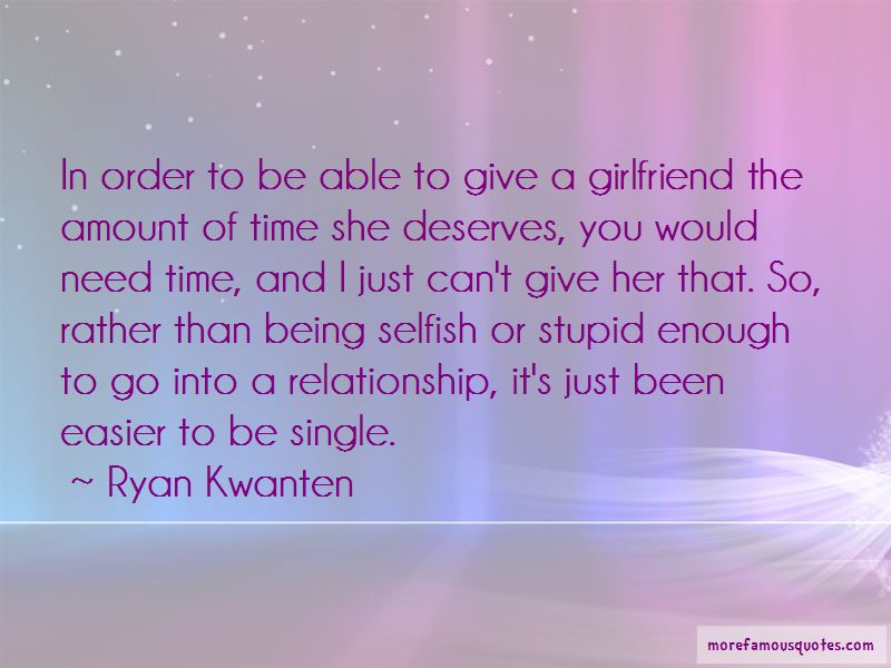 Being A Girlfriend Quotes Pictures 4