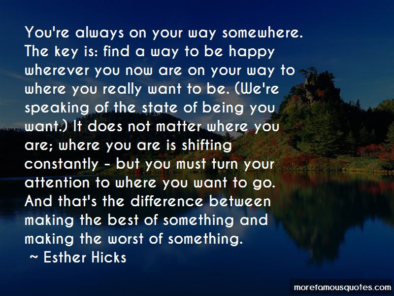 Being Happy Where You Are Now Quotes Pictures 3