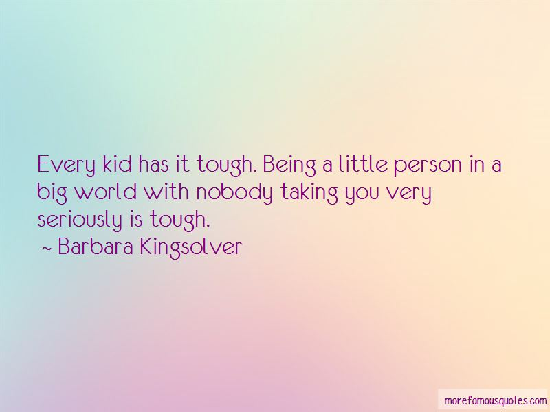Quotes About Being Little In A Big World