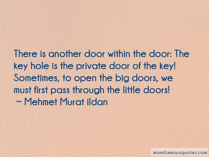 Quotes About Big Doors