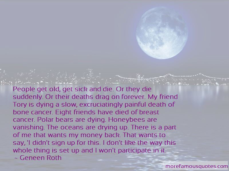 Quotes About Breast Cancer Death