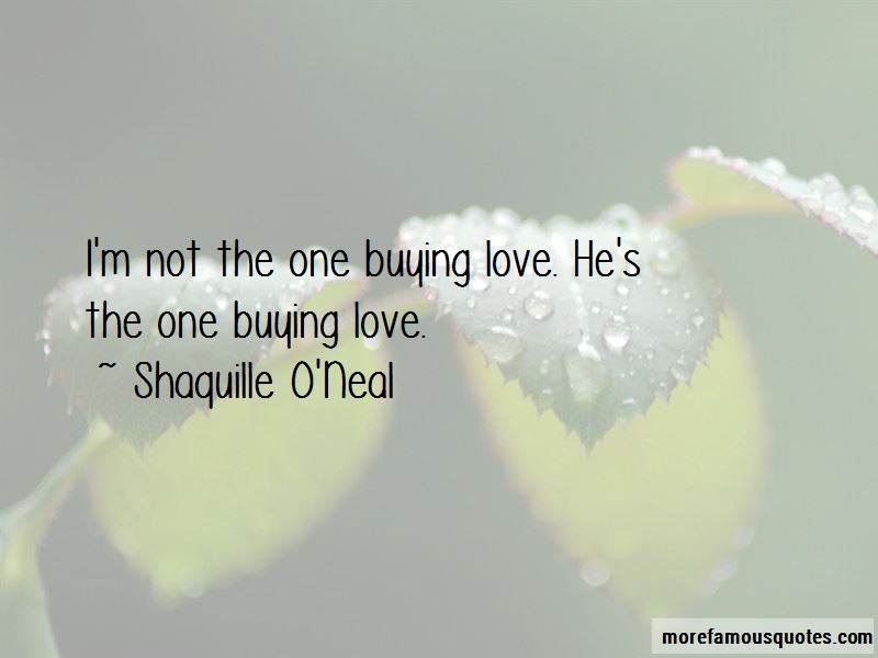 Quotes About Buying Love