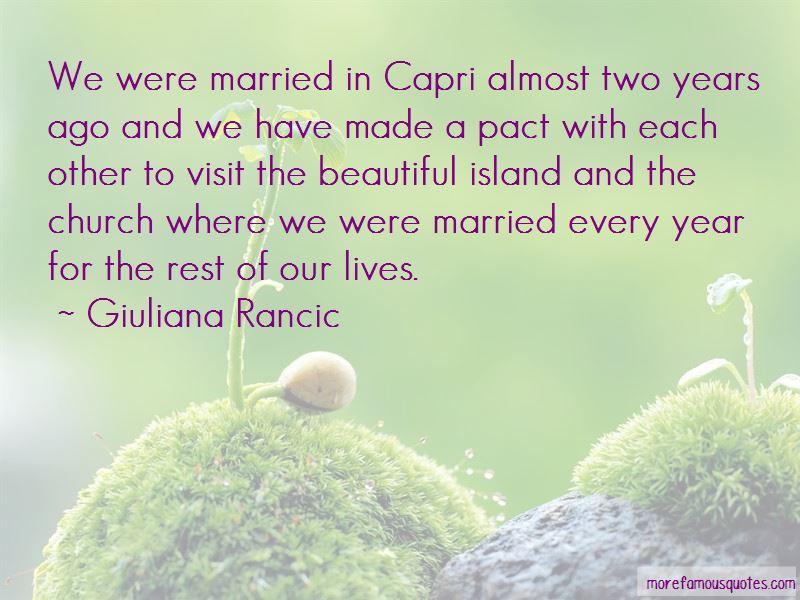 Quotes About Capri Island