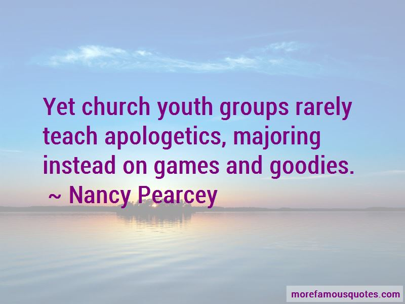 Quotes About Church Youth Groups