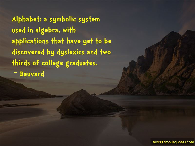 Quotes About College Algebra