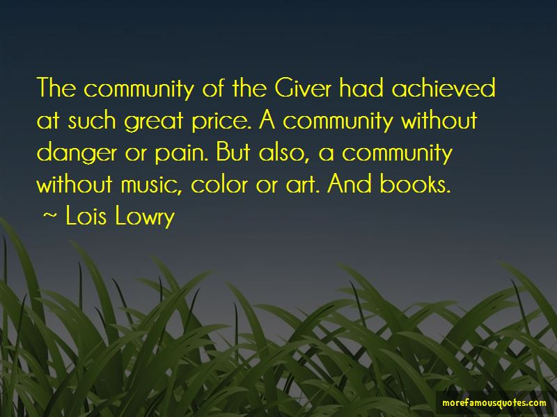 Quotes About Color In The Giver