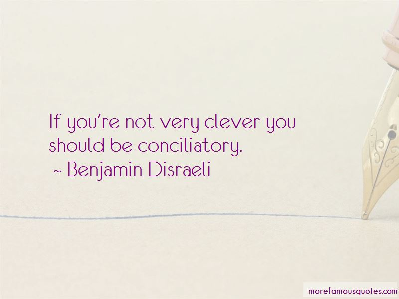 Quotes About Conciliatory