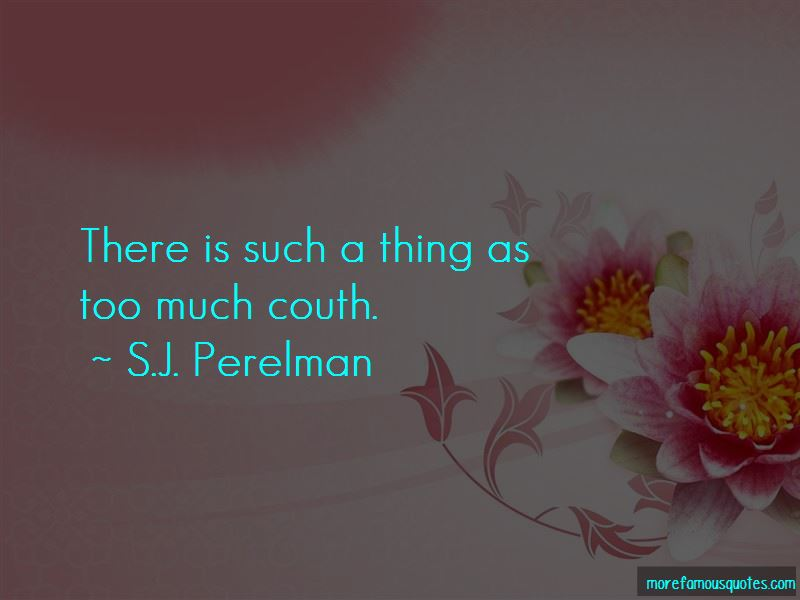Quotes About Couth