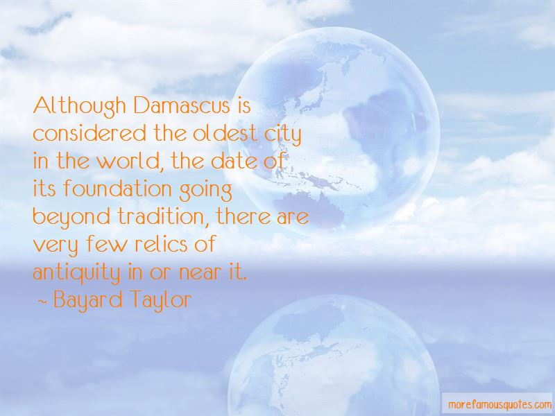 Quotes About Damascus