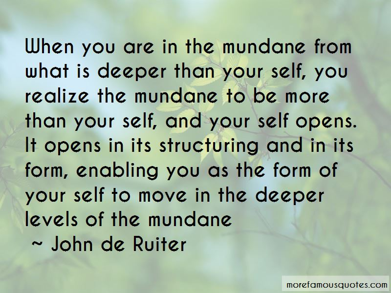 Quotes About Deeper