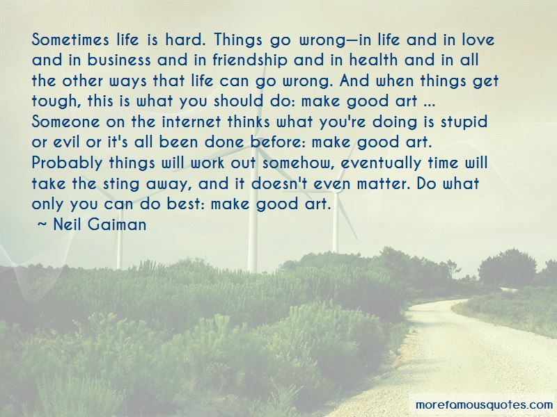 Quotes About Doing Hard Things