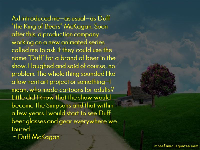 Quotes About Duff Beer