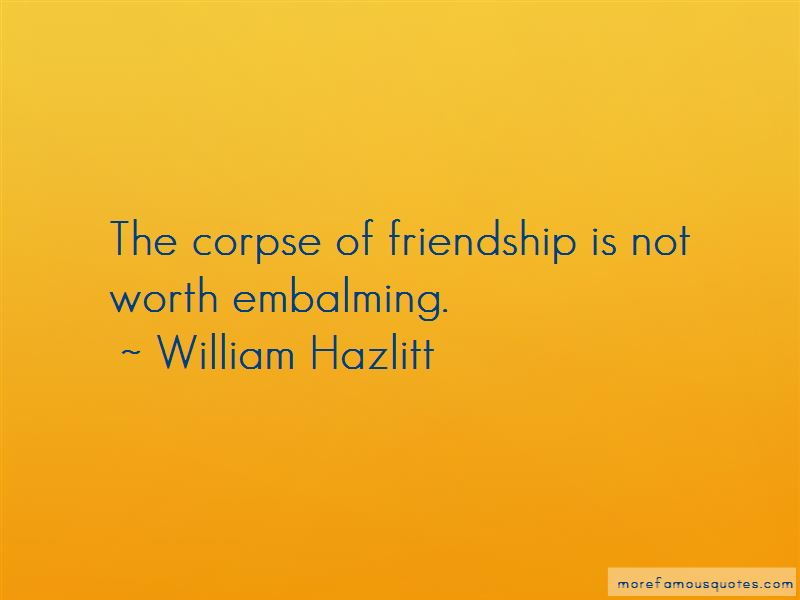 Quotes About Embalming
