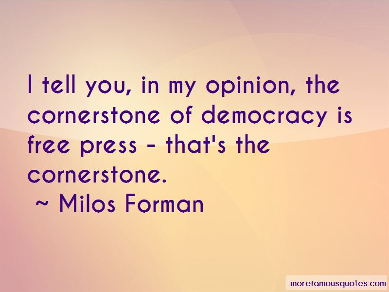 Quotes About Free Press