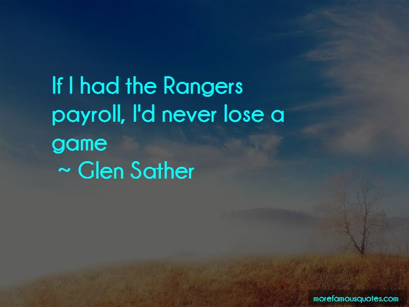 Quotes About Game Rangers