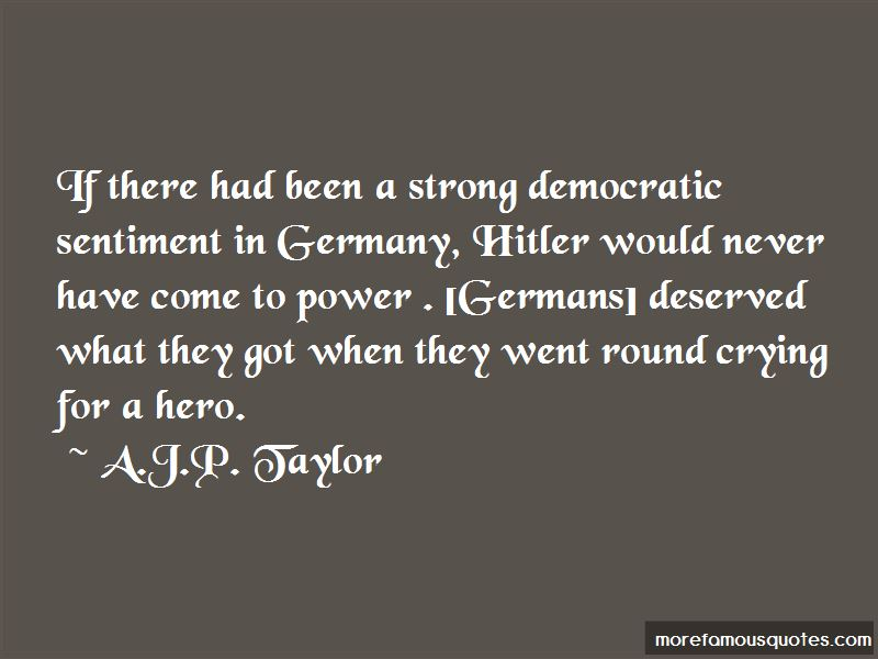 Quotes About Germany Hitler