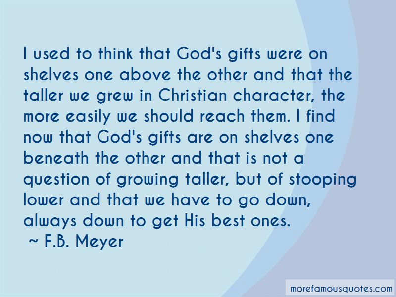 Quotes About God's Gifts