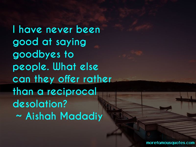 Quotes About Good Goodbyes