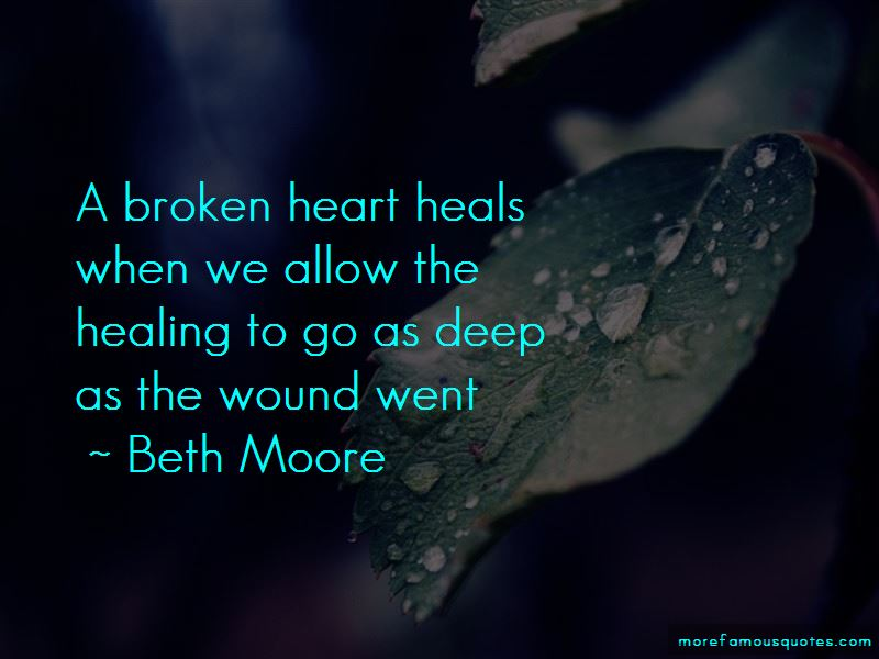 Healing A Broken Heart Quotes Pictures 4