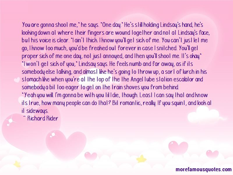 Quotes About Holding My Hand Forever