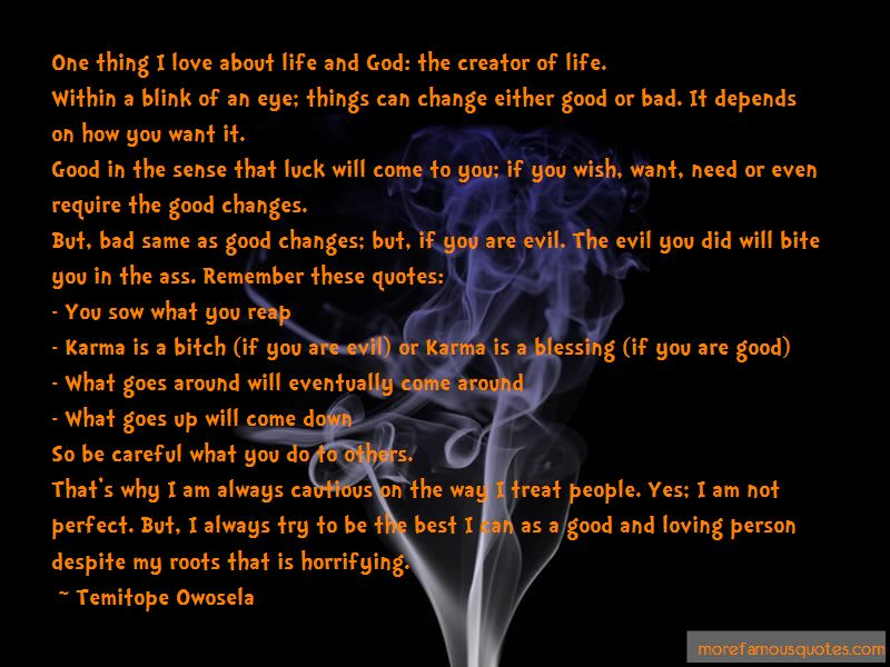 Quotes About How Life Can Change In The Blink Of An Eye
