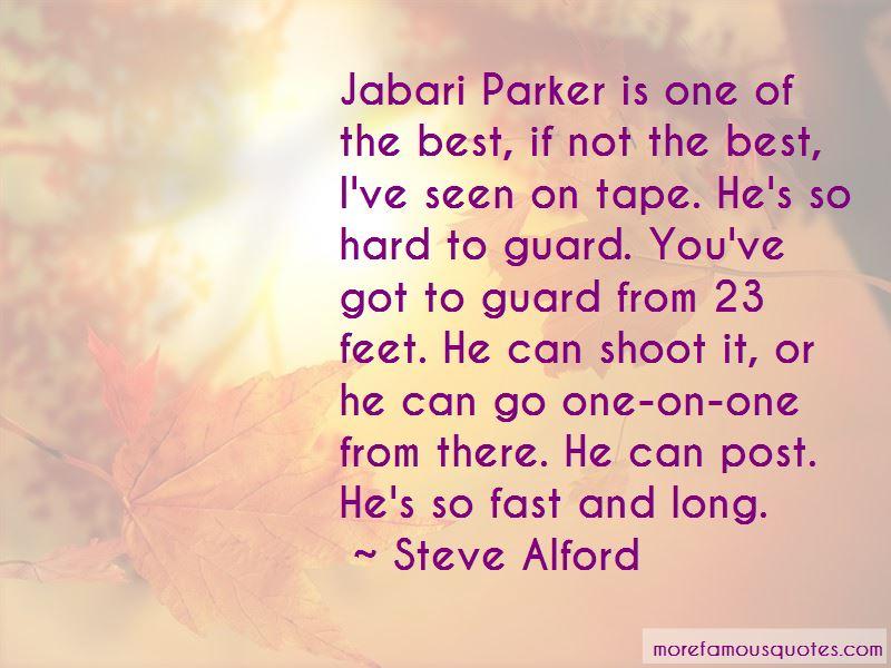 Quotes About Jabari Parker