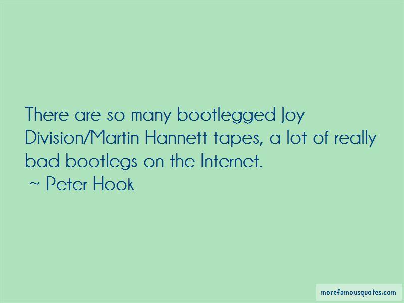 Quotes About Joy Division