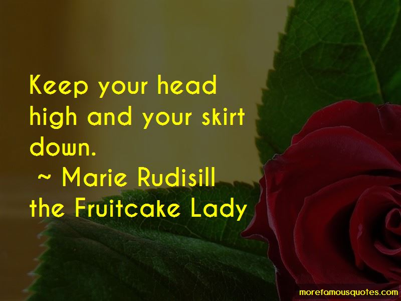 Quotes About Keep Your Head High